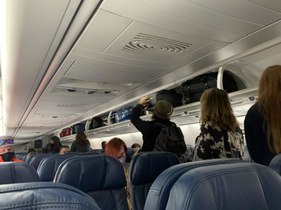 Passengers traveling alone are preferred to leave a space open in the middle seat, allowing for better social distancing.