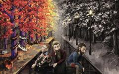 The album art for