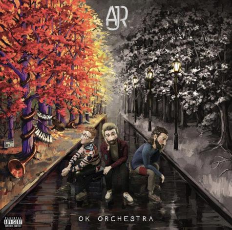 "The album art for ""OK Orchestra,"" AJR"