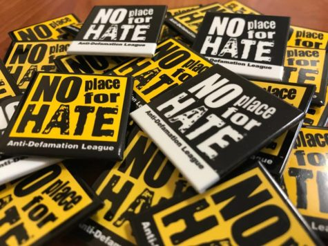 The No Place For Hate lesson allowed students to engage in an open discussion about online hate speech.