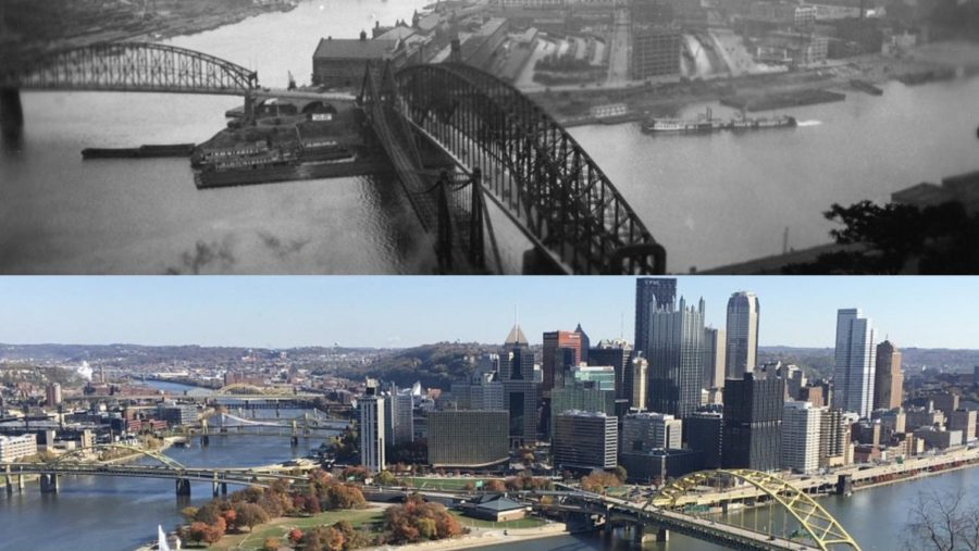 Over the decades, Pittsburgh has gone from major steel producer to center of innovation.