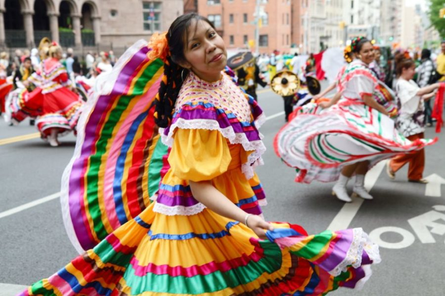 Many Cinco de Mayo celebrations around the country consist of street festivals and parades.