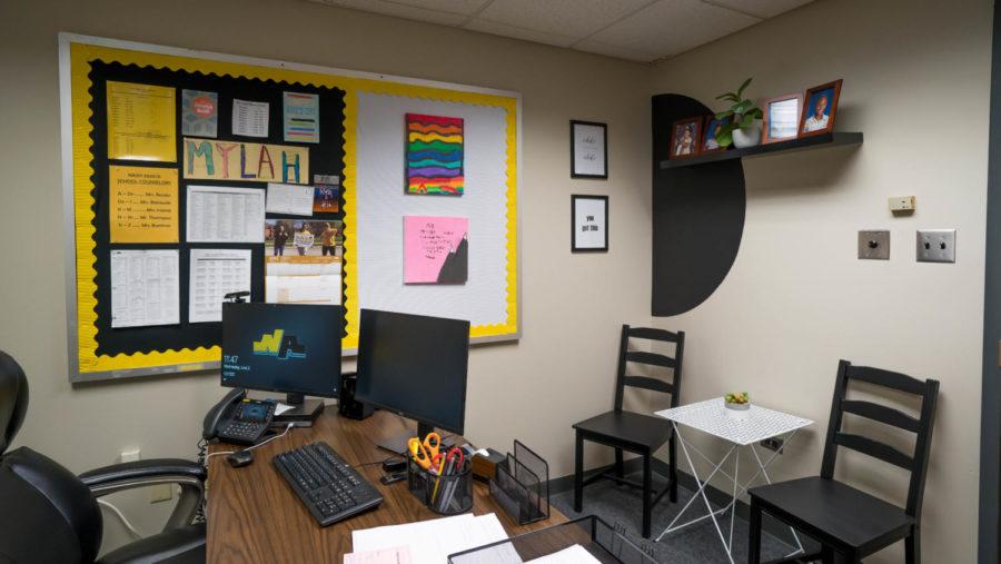 Mr. Buchak's newly renovated office