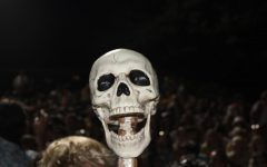 Skully, the beloved symbol of NA spirit, looms high above the student section at varsity sports events throughout the year.