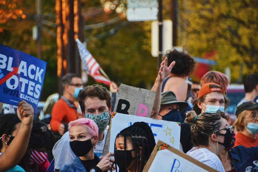 Generation Z taking to the streets, demanding for their voice to be heard.