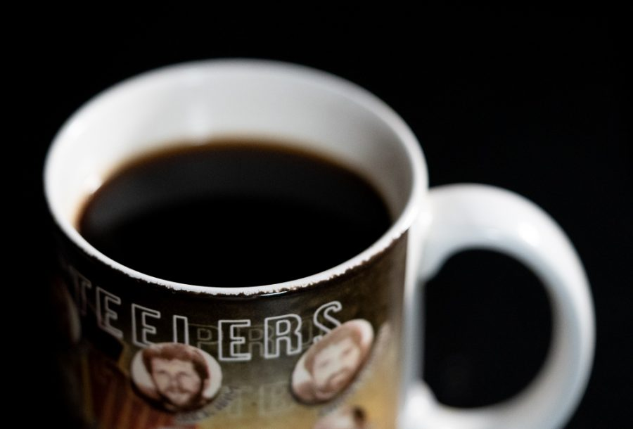 Pittsburghs Strip District is not only a fun place to shop for groceries and sample delicious foods.  Its also a great place to find your morning cup of coffee.