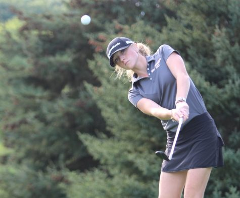 Rankin shoots a 44 at the NA match against Seneca Valley.