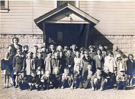Peebles School was the first of seven elementary schools to be built.